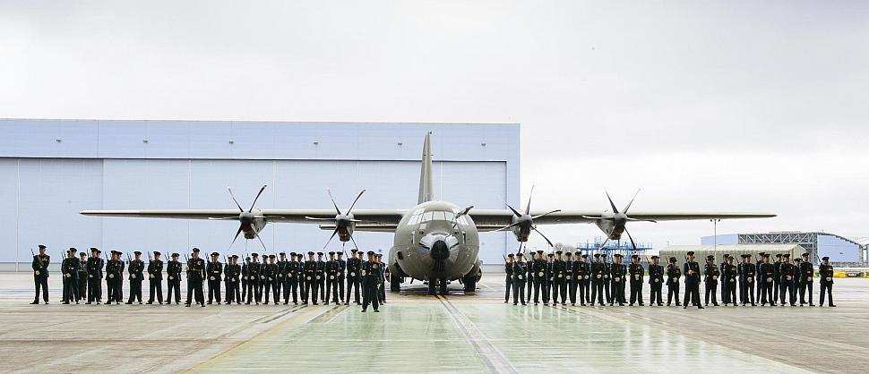 RAF 47 Squadron Centenary parade