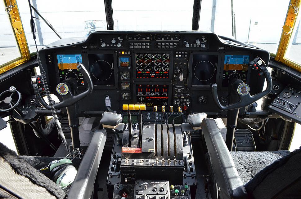 Mexican C 130 Cockpit