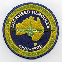Oceania Air Forces C-130 Patches